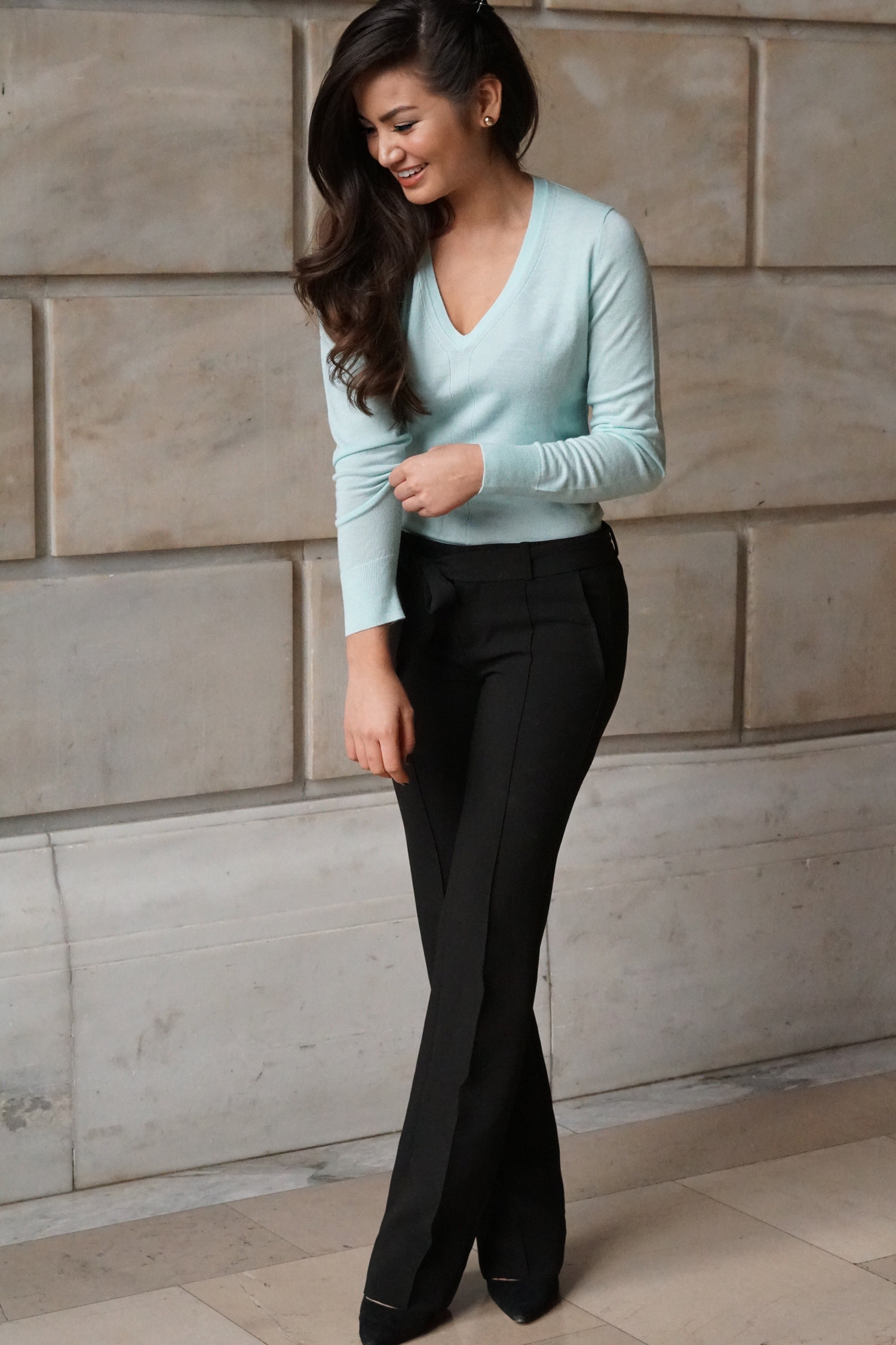 Topics tagged under withlovecaila on bachandbachettefans.net Banana+Republic+Mint+Sweater+Caila+Quinn?format=1500w