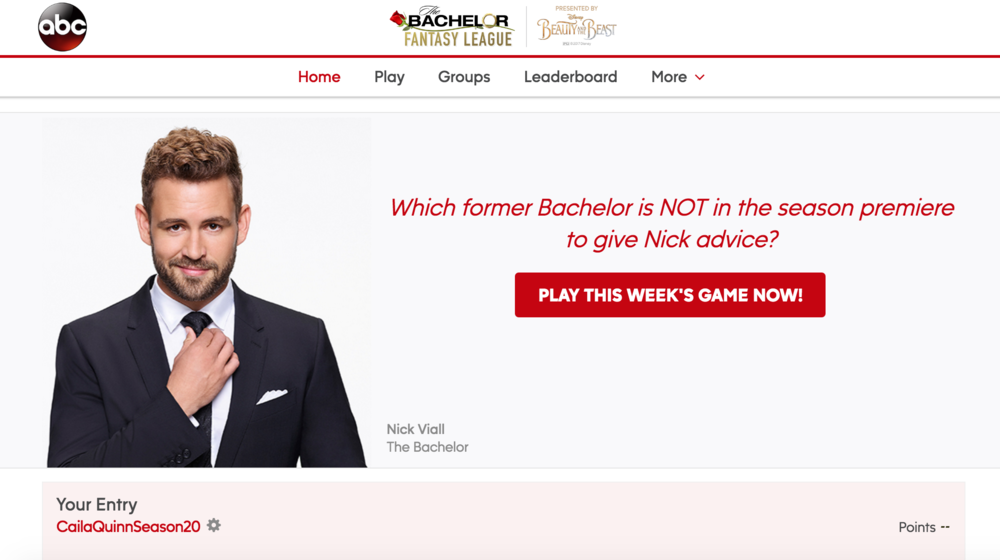 The Bachelor Bracket