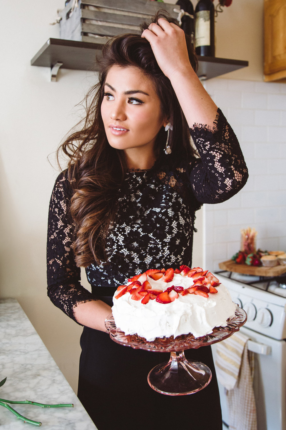 Strawberry Styled Valentine's Day Treats with Caila Quinn