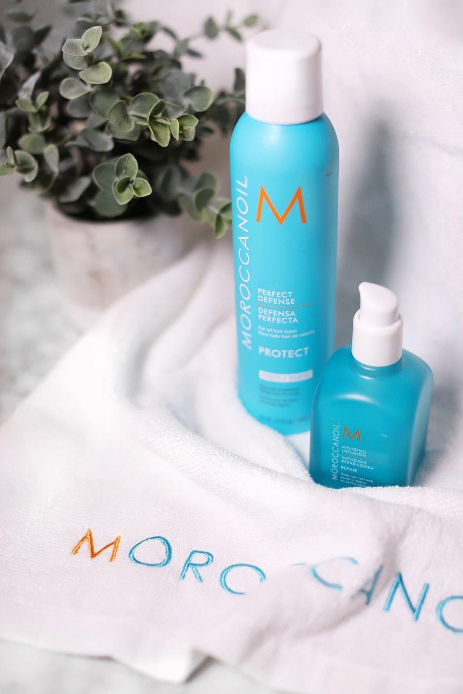 (Left)Moroccanoil® Perfect Defense (Right)Moroccanoil® Mending Infusion