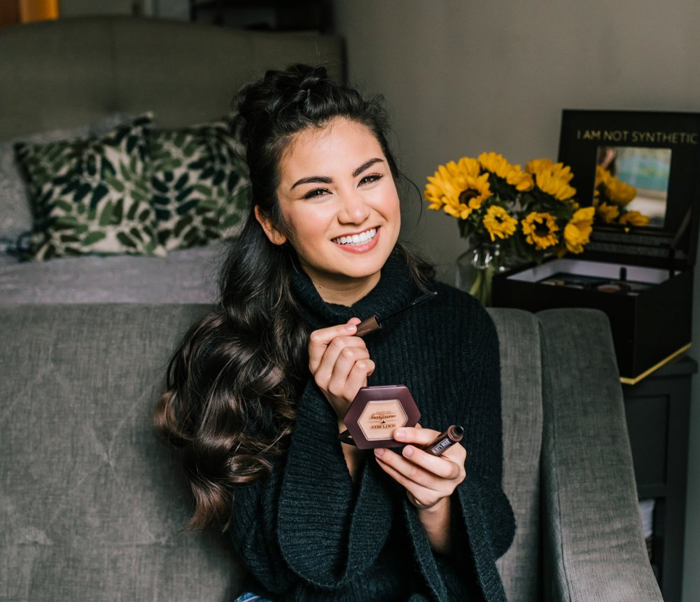 Burt's Bees Makeup Collection with Caila Quinn