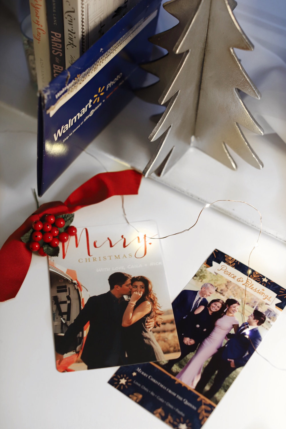 Adorable Custom Christmas Cards from Walmart