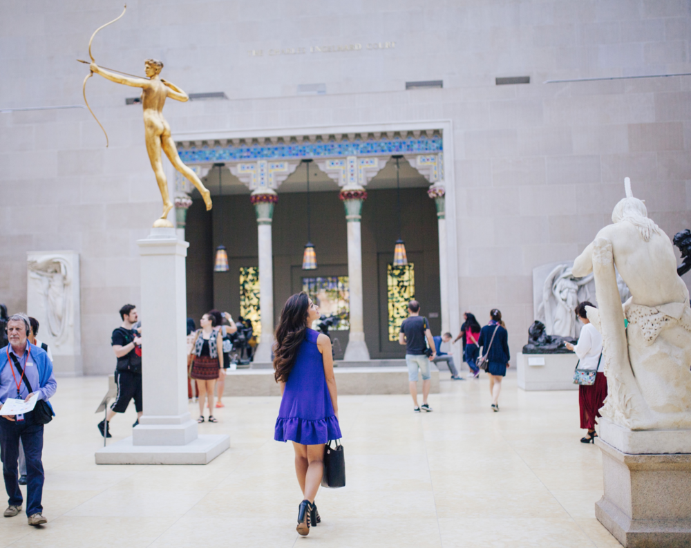 The MET, New York City with Caila Quinn