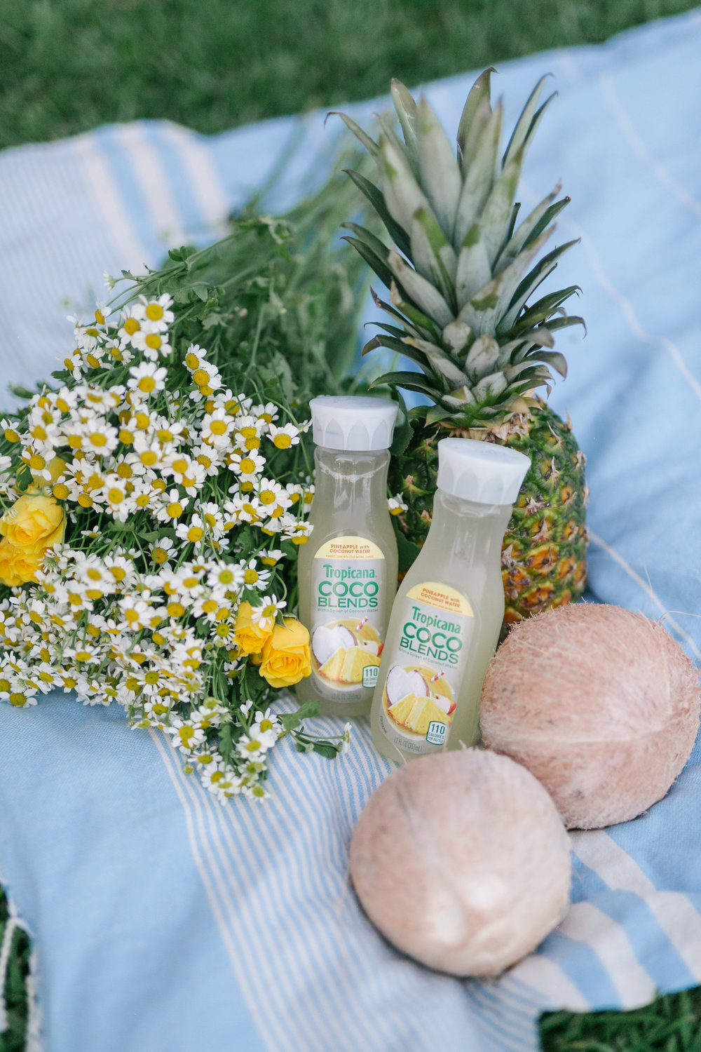 Tropicana Made-to-go Pineapple Coconut Water with Caila Quinn