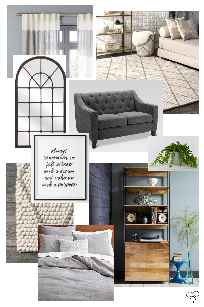 Caila Quinn Studio Apartment Decor