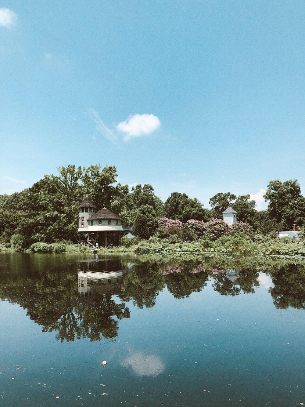 Caila Quinn Richmond Virginia Travel Guide Lewis Ginter Botanical Garden