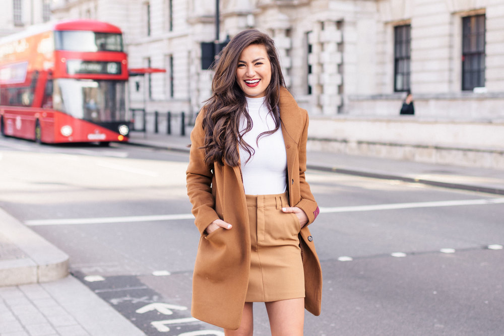 Caila Quinn Travel Blogger London trip Nkima Photography