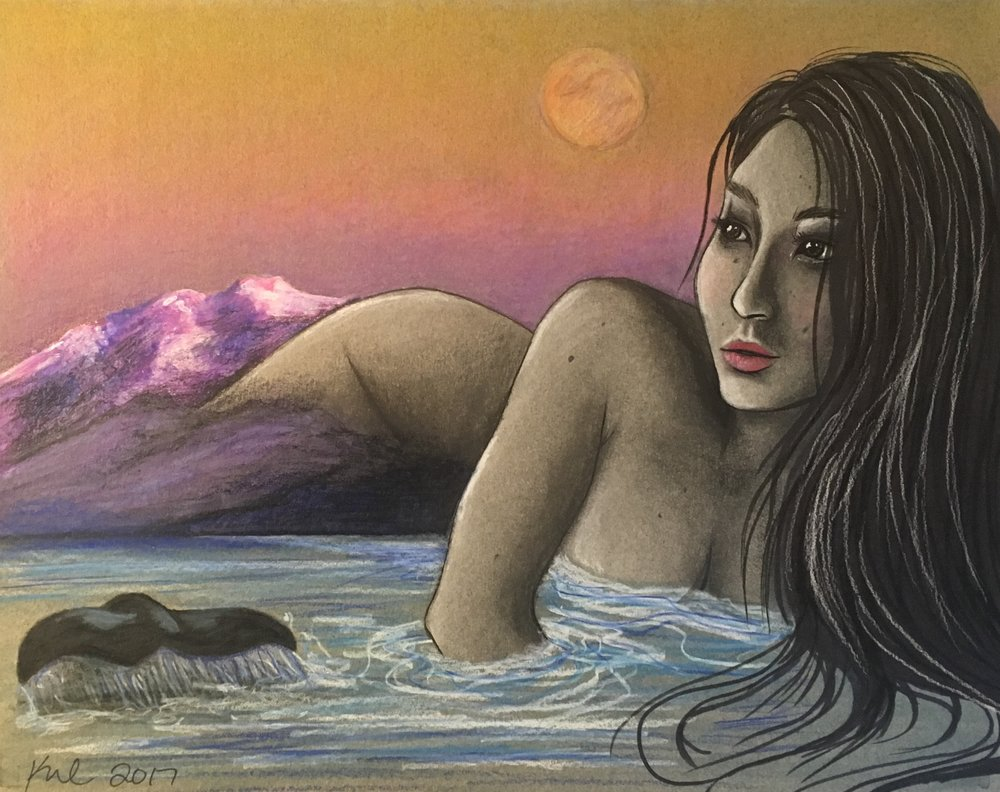 glacier bay woman