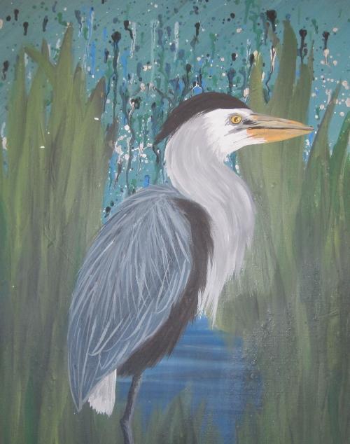 swamp heron