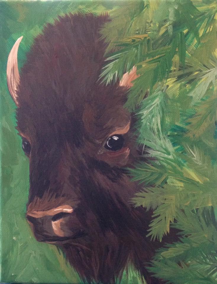 spruce bison