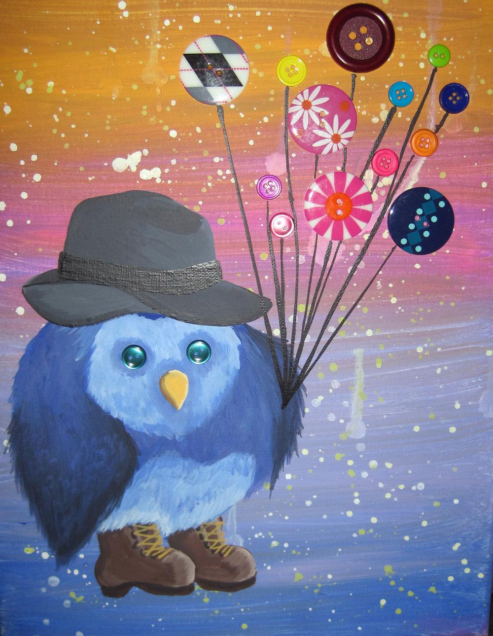 button owl commission