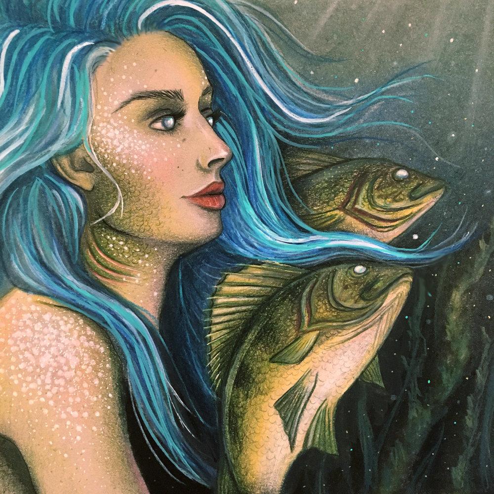 waaswaaganing mermaid