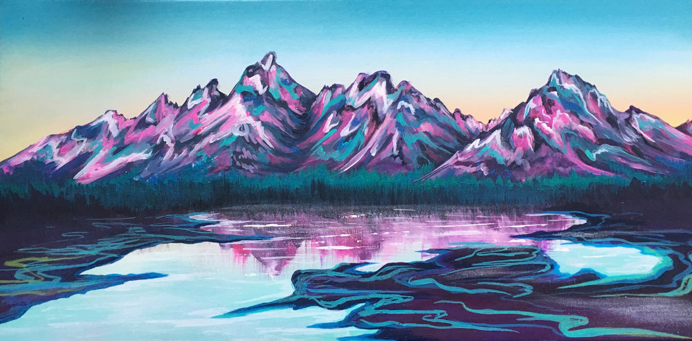 jewel-tone tetons