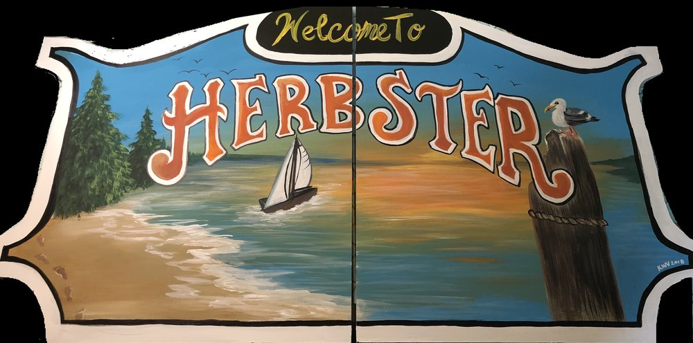 herbster commission sign
