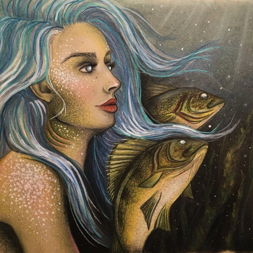 2017 waaswaaganing mermaid