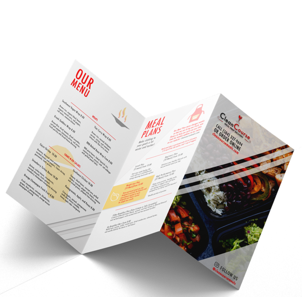 Show off anywhere! - Your brand lives offline just as much as it does online. That's where we come in with custom print materials to make sure customers remember you.