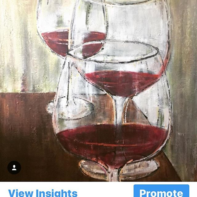 Working on a new wine glass series... #galleryartist #instaartist #artforsalebyartist #art #artist #artwork #texture #wine #wineart #instaartist #instagreat #instagood #instaartist