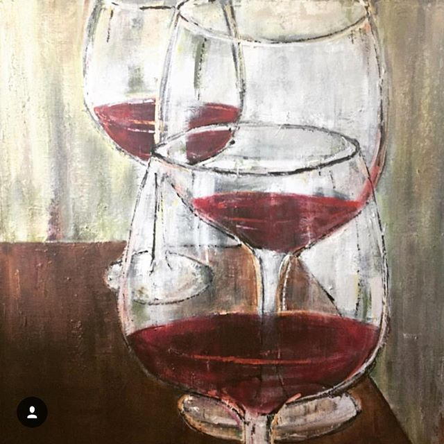 Wine paintings for sale!!:) #galleryartist #instaartist #artforsalebyartist #instaart #artist #art #wine #wineart #redwine