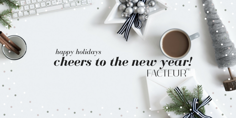 New year, new beginnings, new dreams — FACTEUR PR