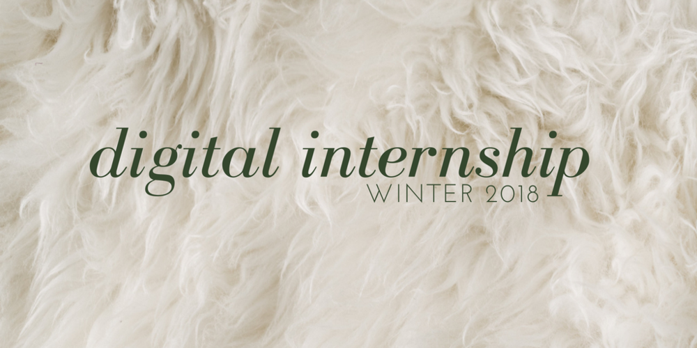 digital internship winter 2018