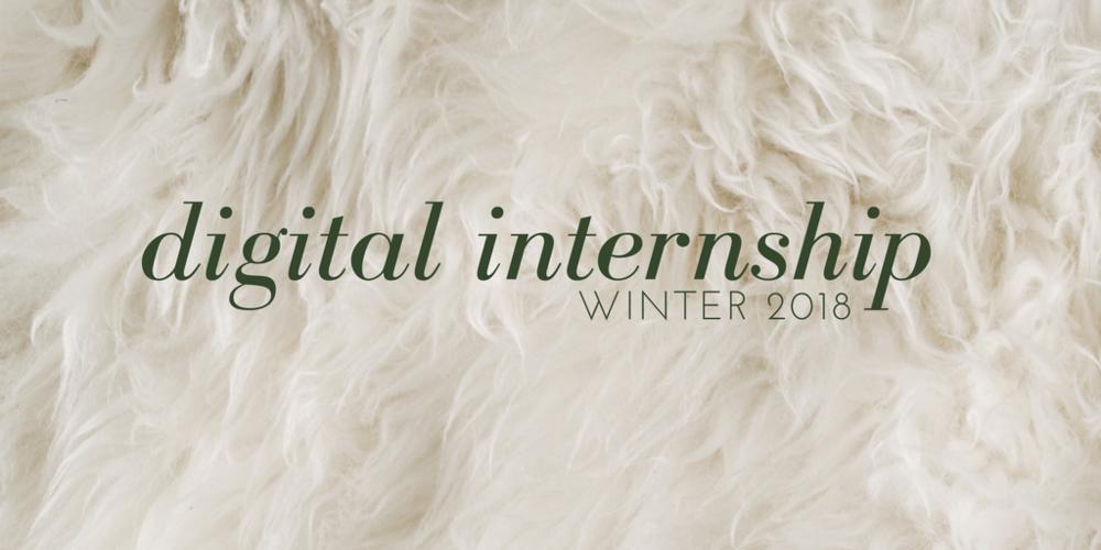 digital internship winter 2018