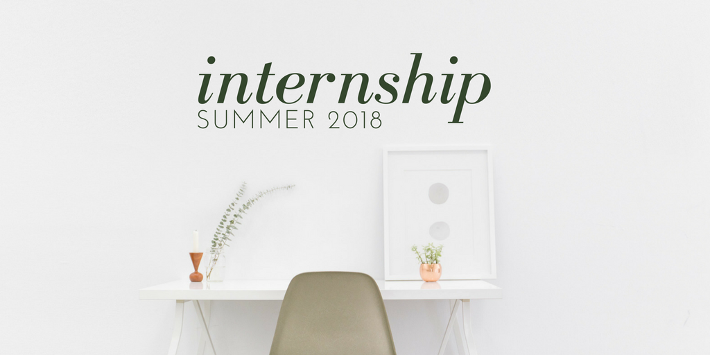 interior design internship summer 2018