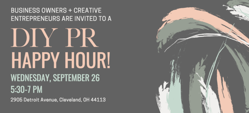 DIY PR Happy Hour Cleveland