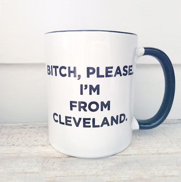 From Cleveland Mug $17.00