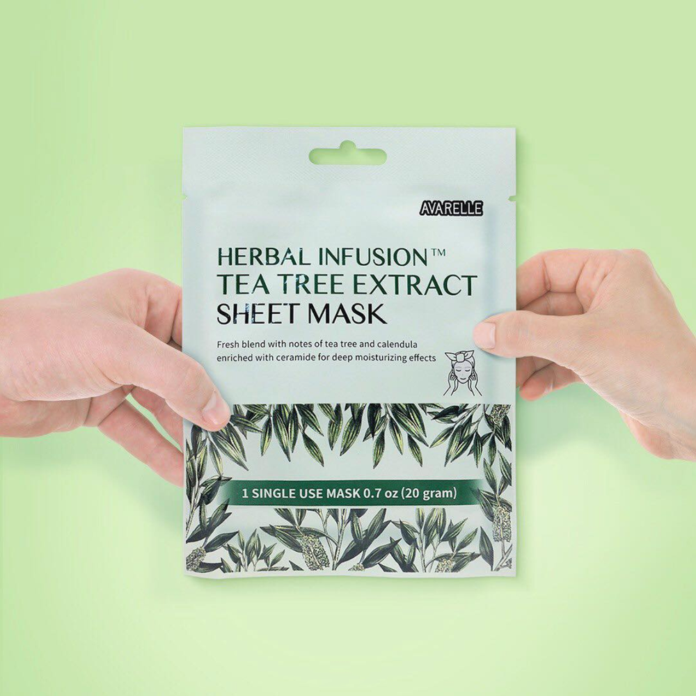 Herbal Infusion Sheet Mask $12.50