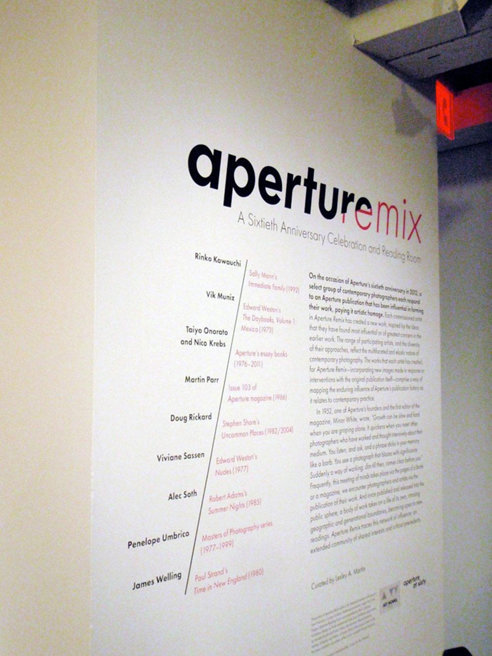 APERTUREmix
