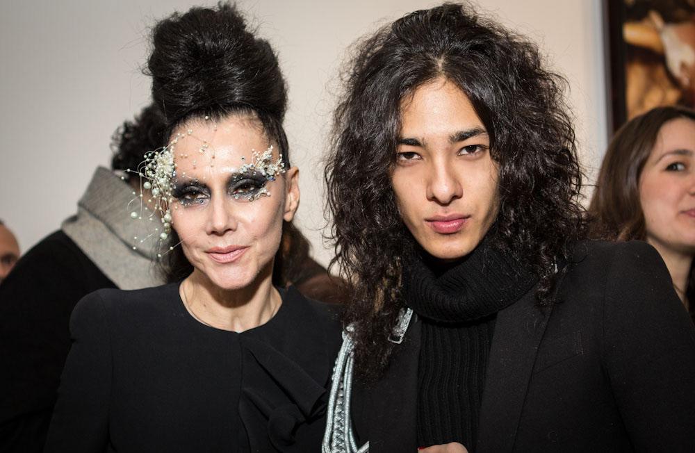 Susanne Bartsch and Ansoni