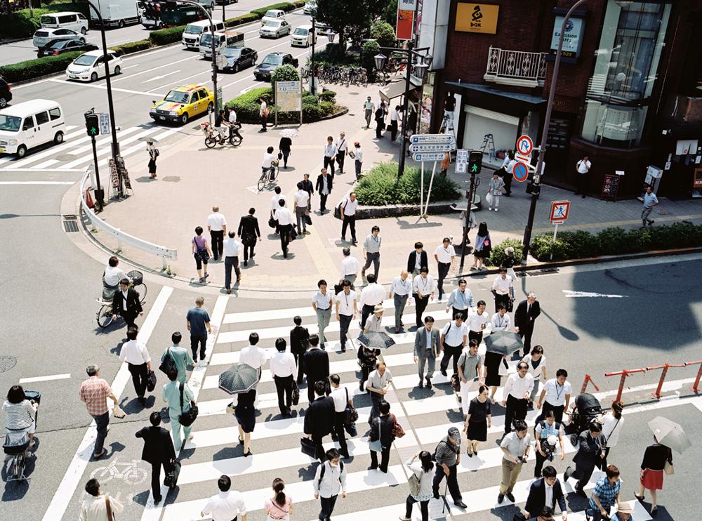 05.Masayo Nishimura-''The Crossing at Noon-Tokyo,June2014#3''