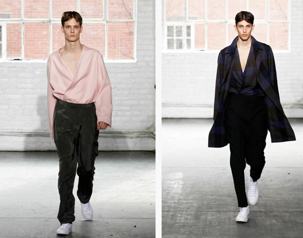 Duckie Brown At NY Fashion Week