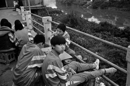 Alan Chin, High School Students, from Toishan series
