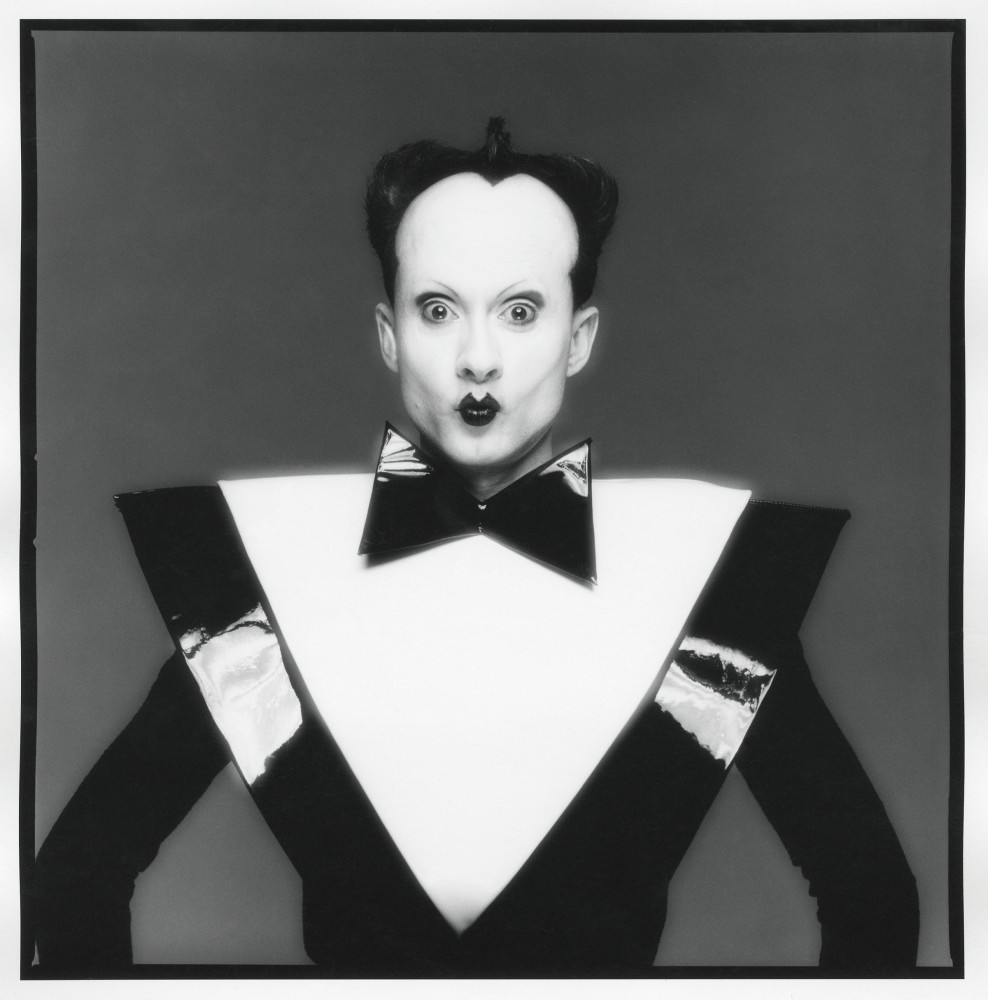 Halsband Portraits, National Arts Club March 29 April 25, 2015  Klaus Nomi Studio,NY January 30, 1980  Photograph by ©Michael Halsband,-2015
