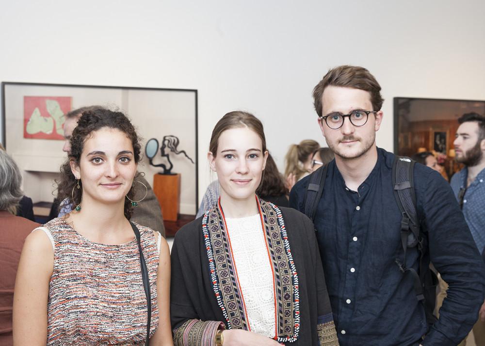 Juliette Delamotte, Josephine Dupuy-Chavanat & Tomas Couvry