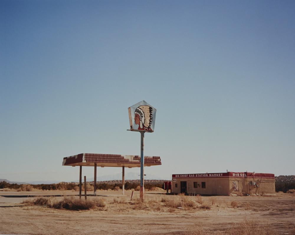 1. Hilton_Big Chief Gas Station, New Mexico, 2015