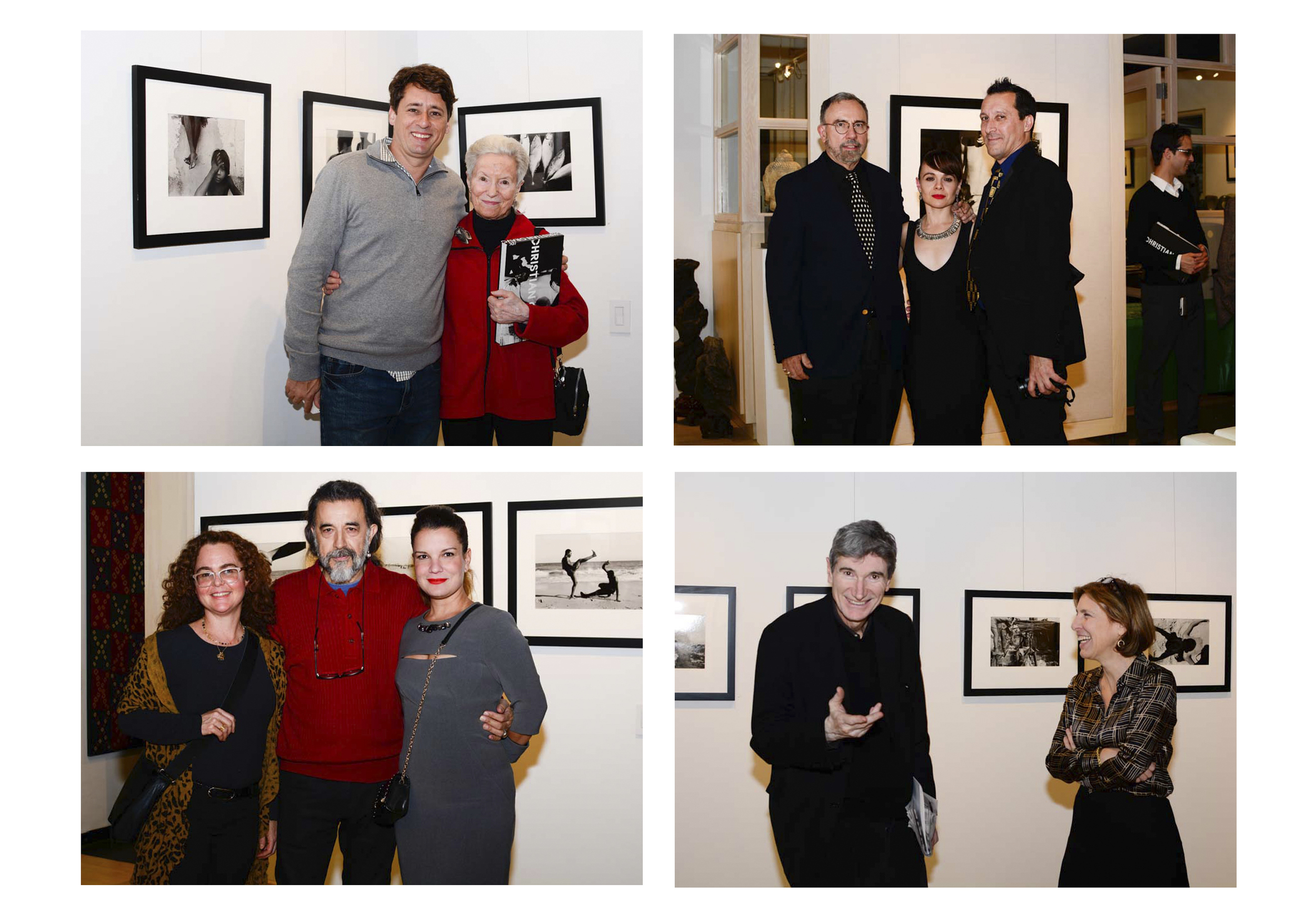 Christian Cravo Gallery Opening