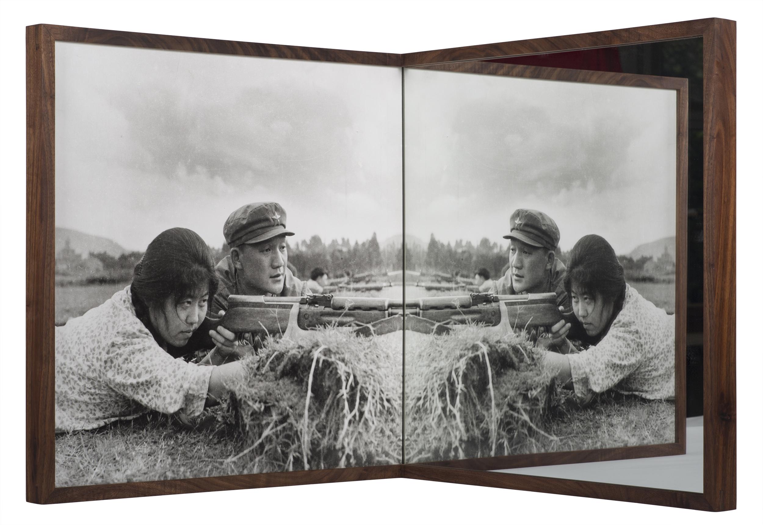 Cai_Dongdong_Practice_Shooting_silver_gelatin_print_mirror_53x53x53_2015