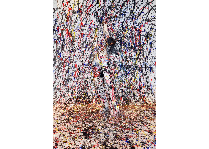 Homage a Pollock by Nicole Furman
