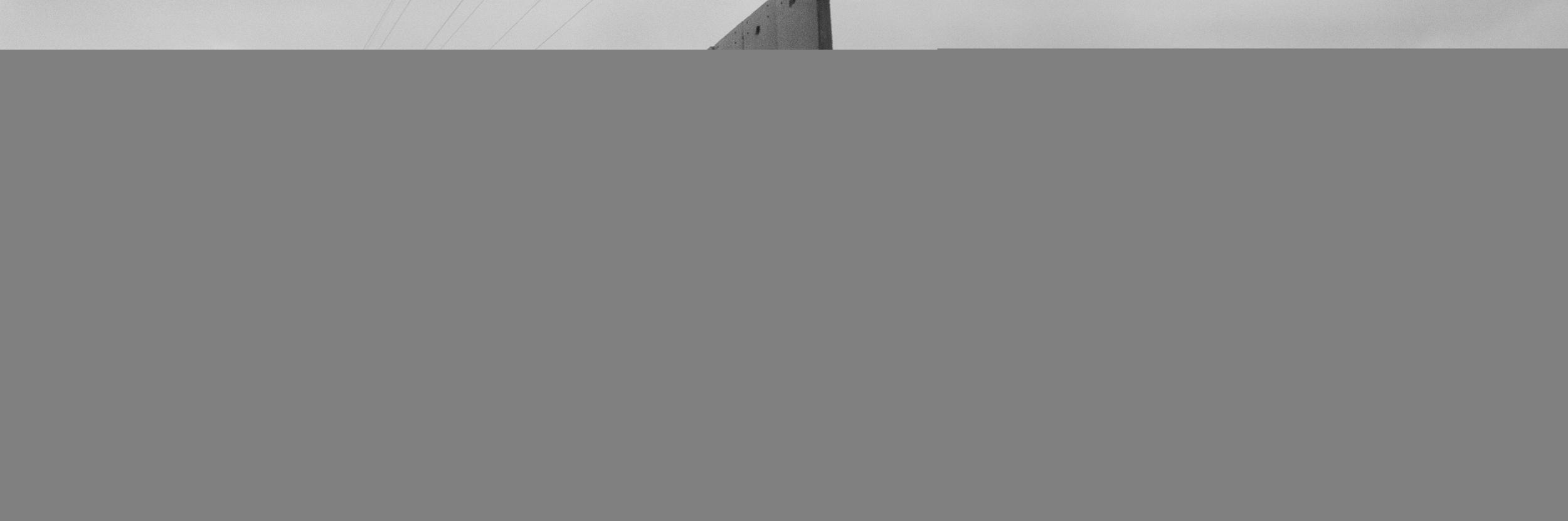 Josef Koudelka (Czech, born 1938). Detail from Wall: Israeli & Palestinian Landscape 2008-2012 (Shu'fat refugee camp, overlooking Al 'Isawiya, Jerusalem), 2008–12. Pigment print, 32 7/8 x 100 in. (83.5 x 254 cm). © Josef Koudelka/Magnum Photos