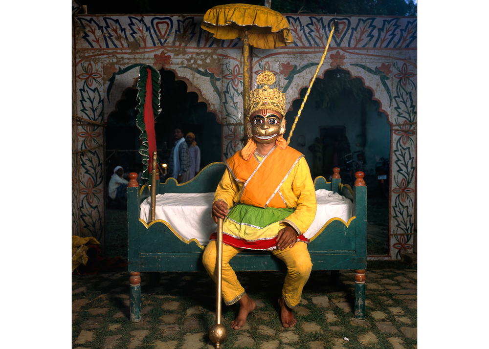 "Image above: ©Phyllis Galembo, Hanuman, The Monkey God, India, 2013, 30 x 30"" Fujiflex print / Courtesy of sepiaEYE Gallery"