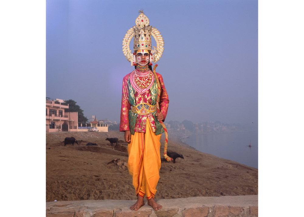 "Image above: ©Phyllis Galembo, Ram, by the Ganges, India 2014, 30 x 30"" Fujiflex print / Courtesy of sepiaEYE Gallery"