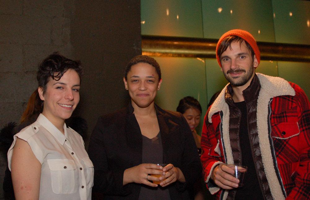 Kim, Ariel and Diego