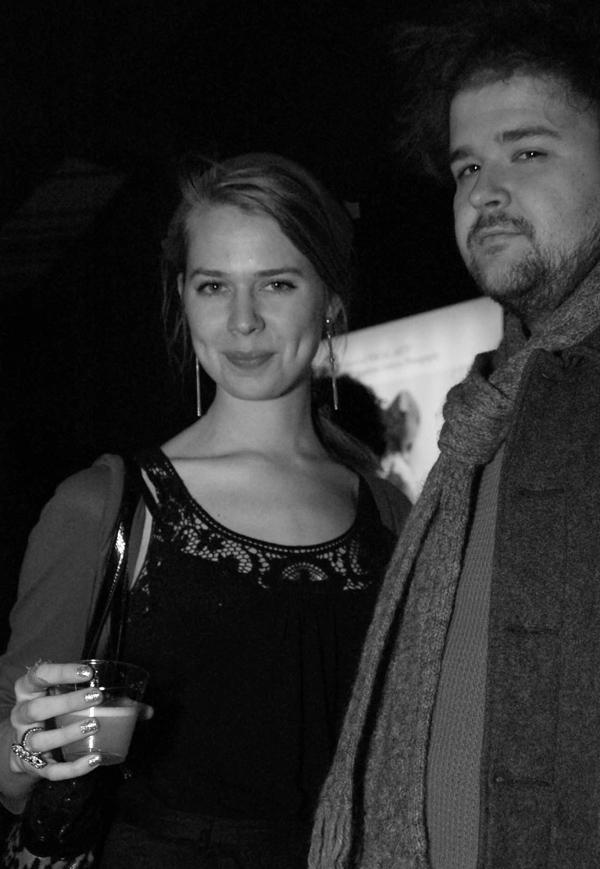Louise Bjornam and Richard Scholz