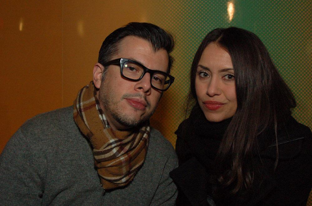 Luz Jacome and Antoine Veliz