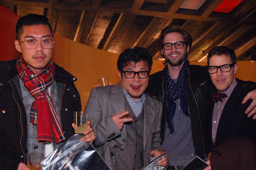 Richard Gerst, Lucas Flores Piran, Junseob Yoon and Damien Kim