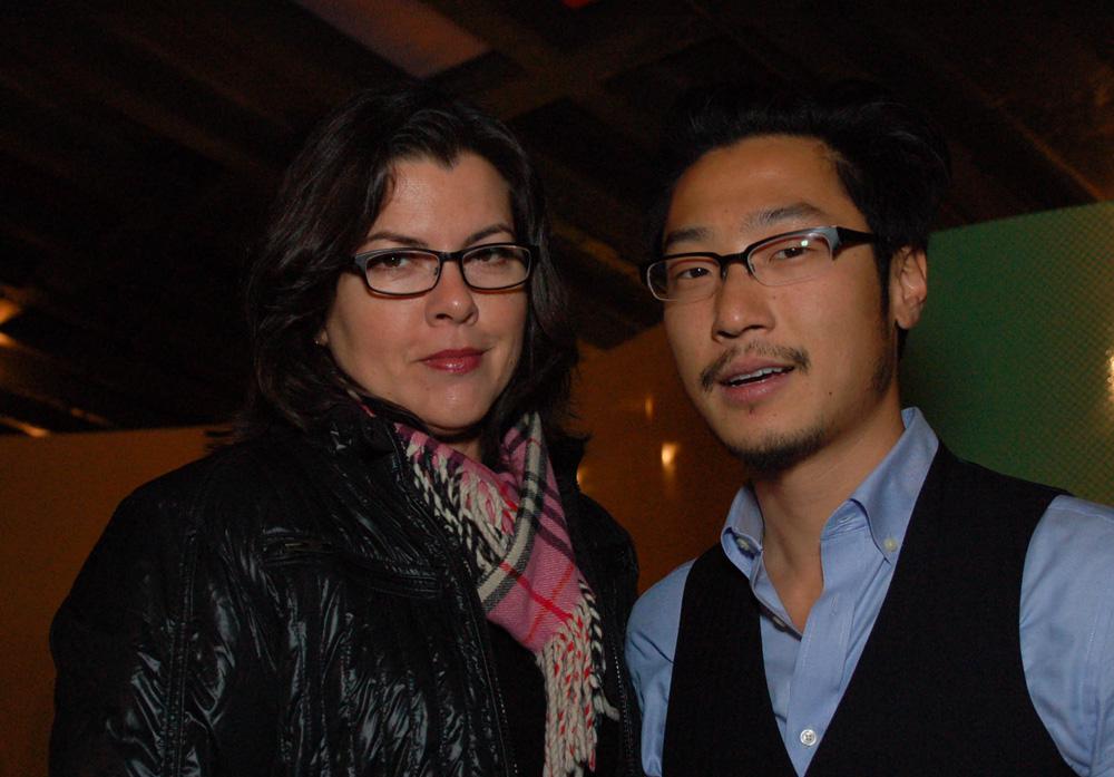 Ricky Kim and Grace Jeffers