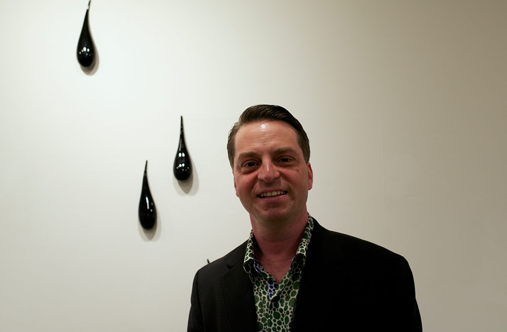 Tom Burckhardt, the curator of the show.