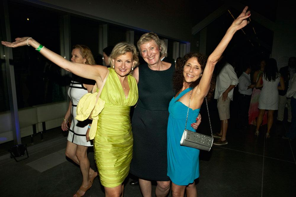 Adraina Pidwerbesky,  Yvon Ross & Baroness Sheri Deborchgrave